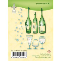 LeCrea - Clear stamp Wine party 55.2403 (08-16)
