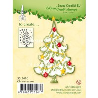 LeCrea - Clear stamp Christmas tree 55.2410 (08-16)