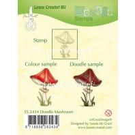 LeCrea - Doodle clear stamp Mushroom 55.2434 (08-16)
