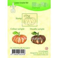 LeCrea - Doodle clear stamp Pumpkin 55.2458 (08-16)