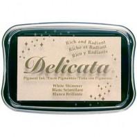 Delicata inktkussen White shimmer DE-000-380