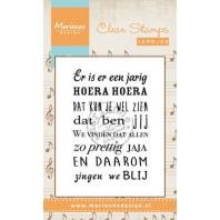 Marianne D Stempel Liedje Er is er een jarig (NL) CS0963 (New 03-16)