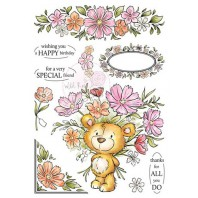 Wild Rose Studio's A5 stamp set Milton AS002 (11-16)