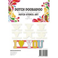 Dutch Doobadoo Dutch Stencil Art Shapes 470.990.060 (07-17)