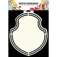 Dutch Doobadoo Dutch Shape Art frames eurolock  A5 470.713.132