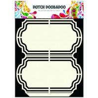 Dutch Doobadoo Dutch Shape Art frames Ornament A5 470.713.137 (08-16)
