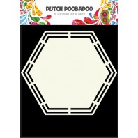 Dutch Doobadoo Dutch Shape Art Hexagon A5 470.713.148 (07-17)