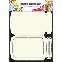 Dutch Doobadoo Dutch Card Art Stencil koektrommel  A4 470.713.609 (11-16)