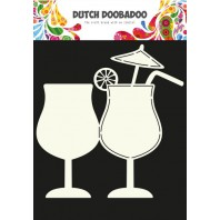 Dutch Doobadoo Dutch Card Art Cocktail glas A5 470.713.634 (07-17)