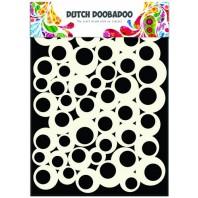 Dutch Doobadoo Dutch Mask Art stencil bubbles 2  A5 470.715.100