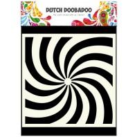 Dutch Doobadoo Dutch Mask Art stencil spiral 15x15cm 470.715.600