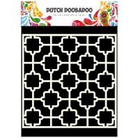 Dutch Doobadoo Dutch Mask Art stencil tile 15x15cm 470.715.601