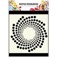 Dutch Doobadoo Dutch Mask Art stencil Zon 15x15cm 470.715.602 (07-16)