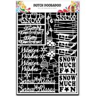 Dutch Doobadoo Dutch Paper Art winter - A5 472.948.034