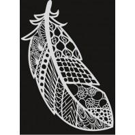 Pronty Mask stencil - Veer zentangle 470.803.033   A4 (03-17)