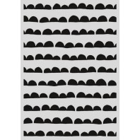 Pronty Mask stencil - Scallop streep 470.803.034   A4 (03-17)
