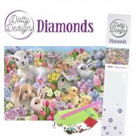 Dotty Designs Diamonds - Baby Animals DDD1024