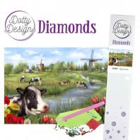 Dotty Designs Diamonds - Landscape DDD1025