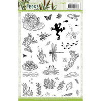 Clear Stamps - Amy Design - Friendly Frogs
