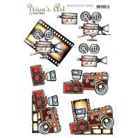 3D Knipvel  Yvon's Art - Camera 11618
