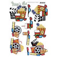 3D Knipvel  Yvon's Art - Cinema 11617