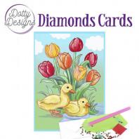 Dotty Designs Diamond Cards - Ducks