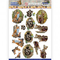 3D Push Out - Amy Design Forest Animals - Fox 10535