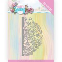 Dies - Amy Design - Enjoy Spring - Half Flower Circle