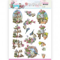 3D Push Out - Amy Design - Enjoy Spring - Spring Decorations 10541