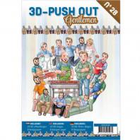 3D Push Out book 28 - Gentlemen