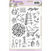 Clear Stamps - Precious Marieke - Beautiful Garden