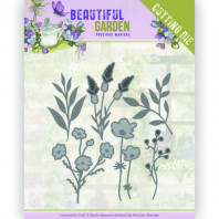 Dies - Precious Marieke - Beautiful Garden - Flower Bouquet