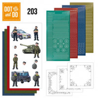 Dot and Do 203 - Yvonne Creations  - Big Guys - Professions