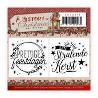 Mini Clear Stamps Set - Amy Design - History of Christmas