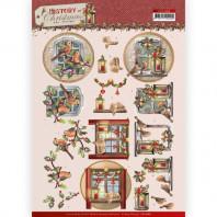 Amy Design - History of Christmas - Christmas Window