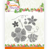 Dies - Jeanine's Art - Exotic Flowers - Flowers and Leafs