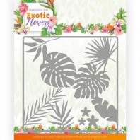 Dies - Jeanine's Art - Exotic Flowers - Leaf and Flower Frame