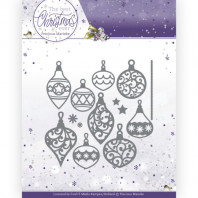 Dies - Precious Marieke - The Best Christmas Ever - Bunch of Christmas Baubles