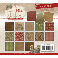 Paperpack - Yvonne Creations - Have a Mice Christmas