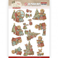3D Push Out - Yvonne Creations - Have a Mice Christmas - Decorating