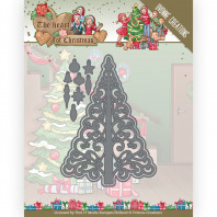 Dies - Yvonne Creations - The Heart of Christmas - Twinkling Tree