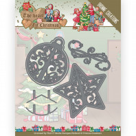 Dies - Yvonne Creations - The Heart of Christmas - Twinkling Decorations