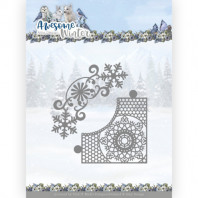 Dies - Amy Design - Awesome Winter - Winter Lace Corner