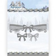 Dies - Amy Design - Awesome Winter - Winter Lace Bow