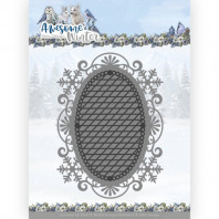 Dies - Amy Design - Awesome Winter - Winter Lace Oval