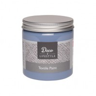Deco & Lifestyle Textielverf 230 ml - Antiek blauw 24305