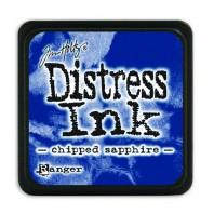 Ranger Distress Mini Ink pad - chipped sapphire TDP39907 Tim Holtz