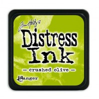 Ranger Distress Mini Ink pad - crushed olive TDP39914 Tim Holtz