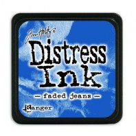Ranger Distress Mini Ink pad - faded jeans TDP39952 Tim Holtz