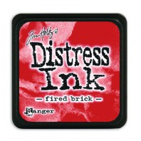 Ranger Distress Mini Ink pad - fired brick TDP39976 Tim Holtz